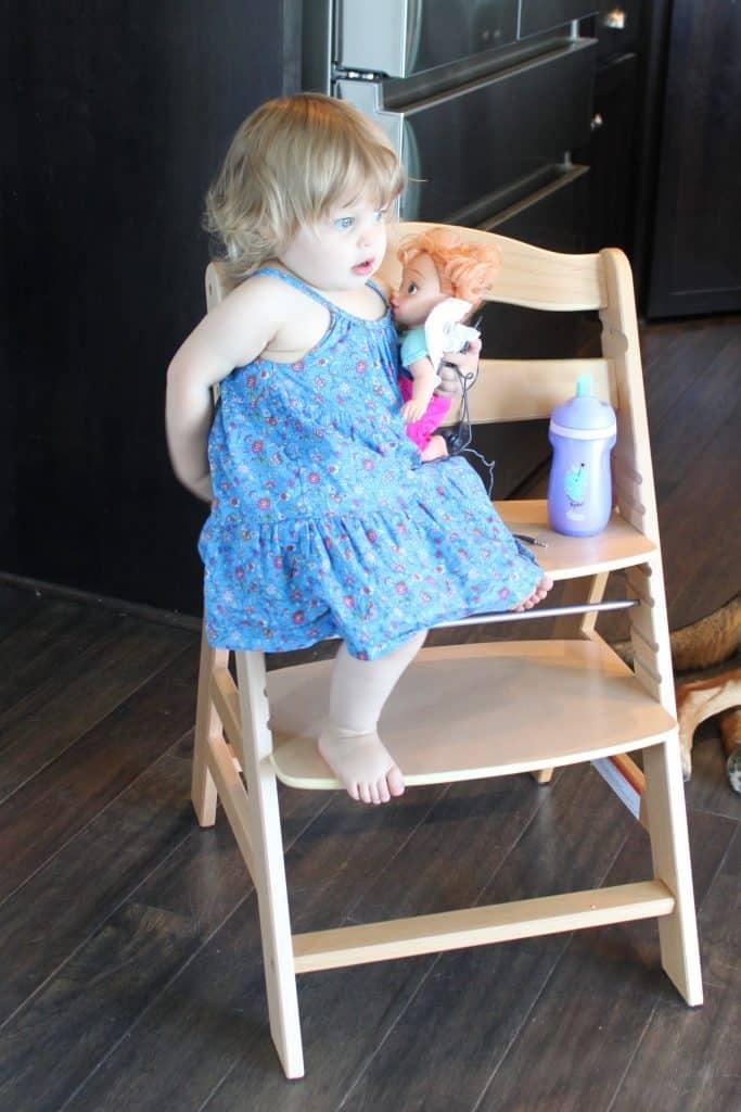 Wooden Chair - Alpha Chair Test