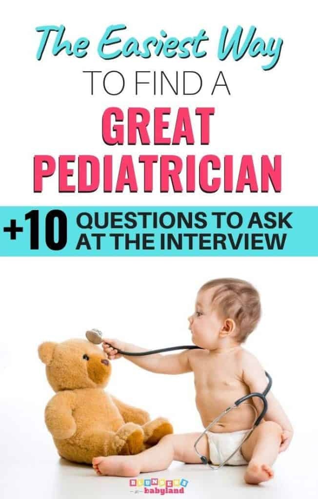 How to Find a Pediatrician - Questions to Ask
