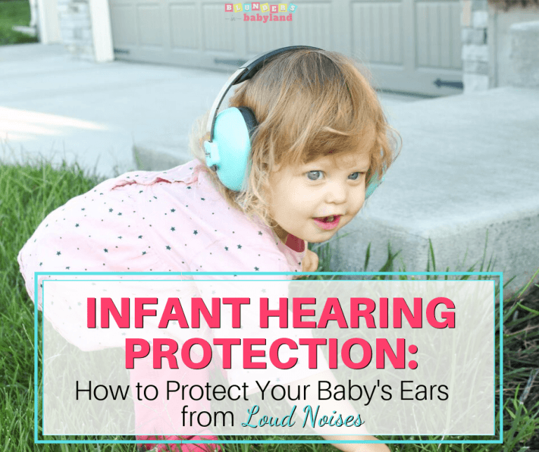 Infant Hearing Protection: Protecting Your Baby's Ears from Loud Noises