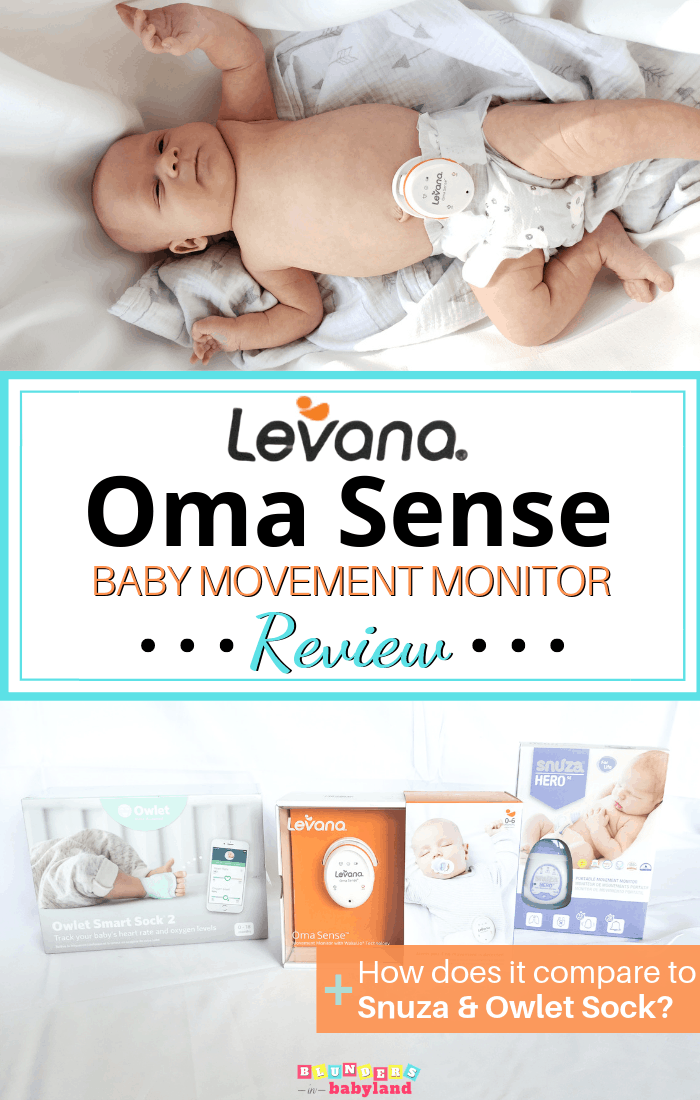 Levana Oma Sense Baby Movement Monitor Review Pin