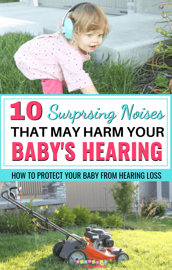 Protect Baby From Hearing Loss from Loud Noises