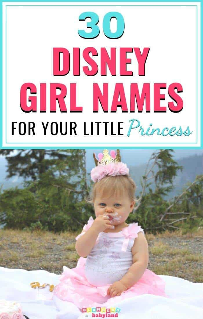 30 Disney Girl Names for your little princess