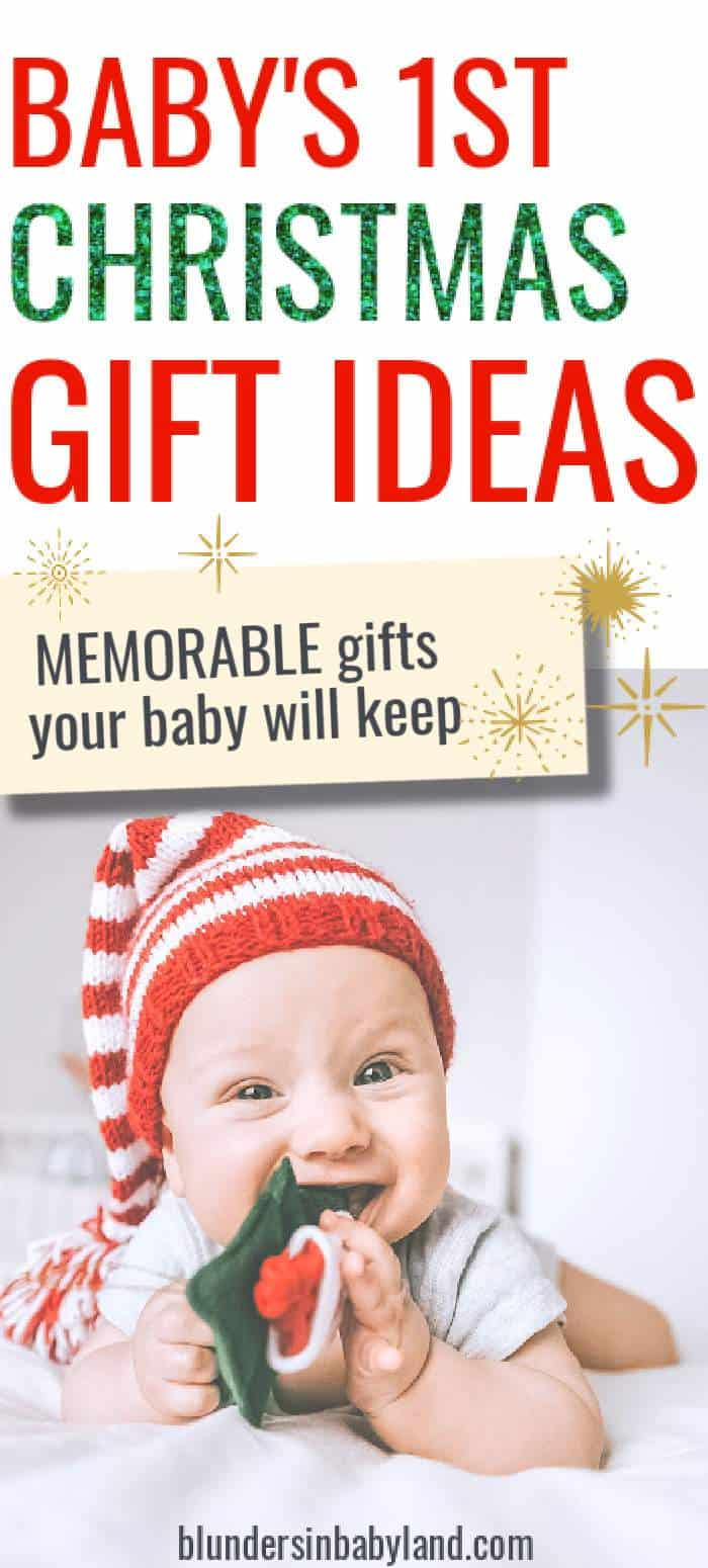 Gifts for Baby's First Christmas