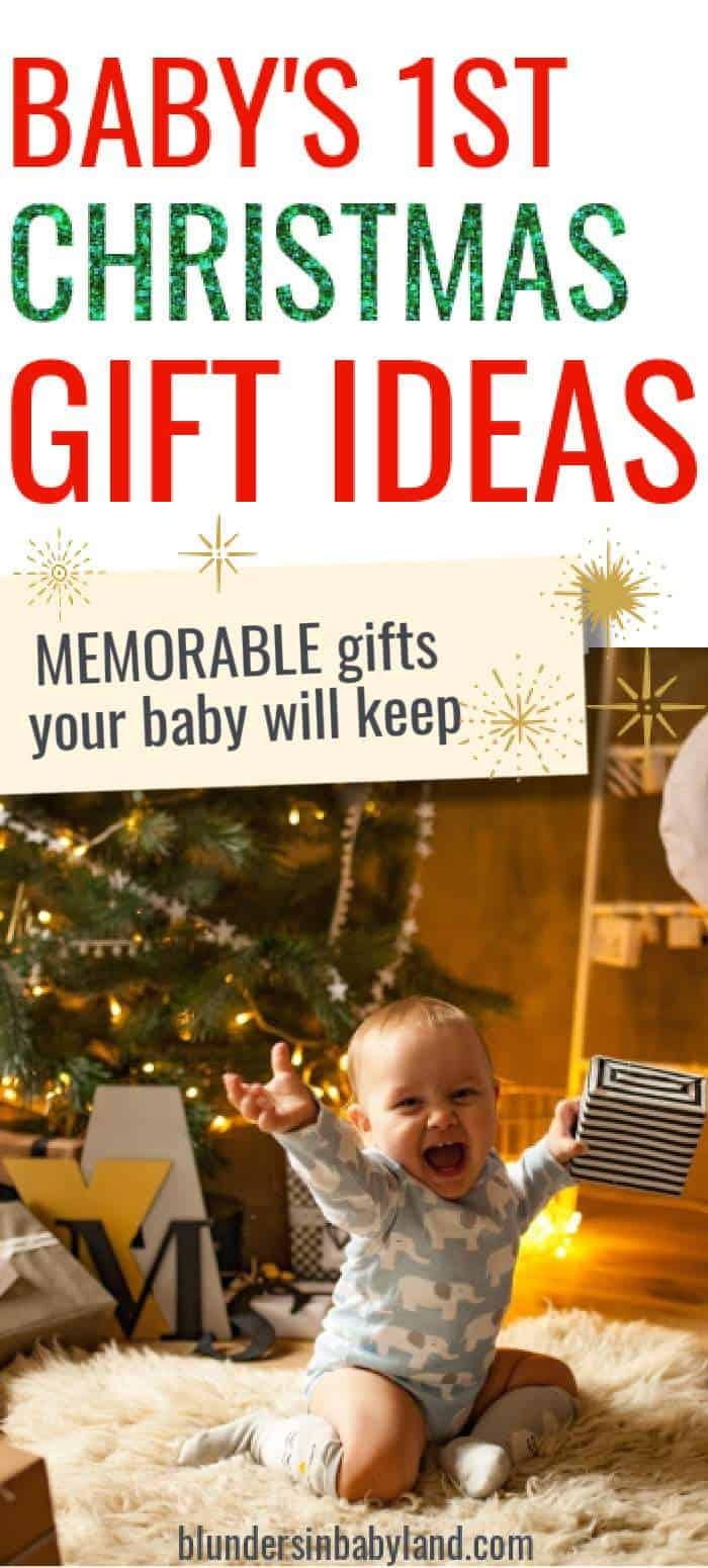 Baby's First Christmas Gift Ideas - Christmas Gift Ideas for Babys First Christmas