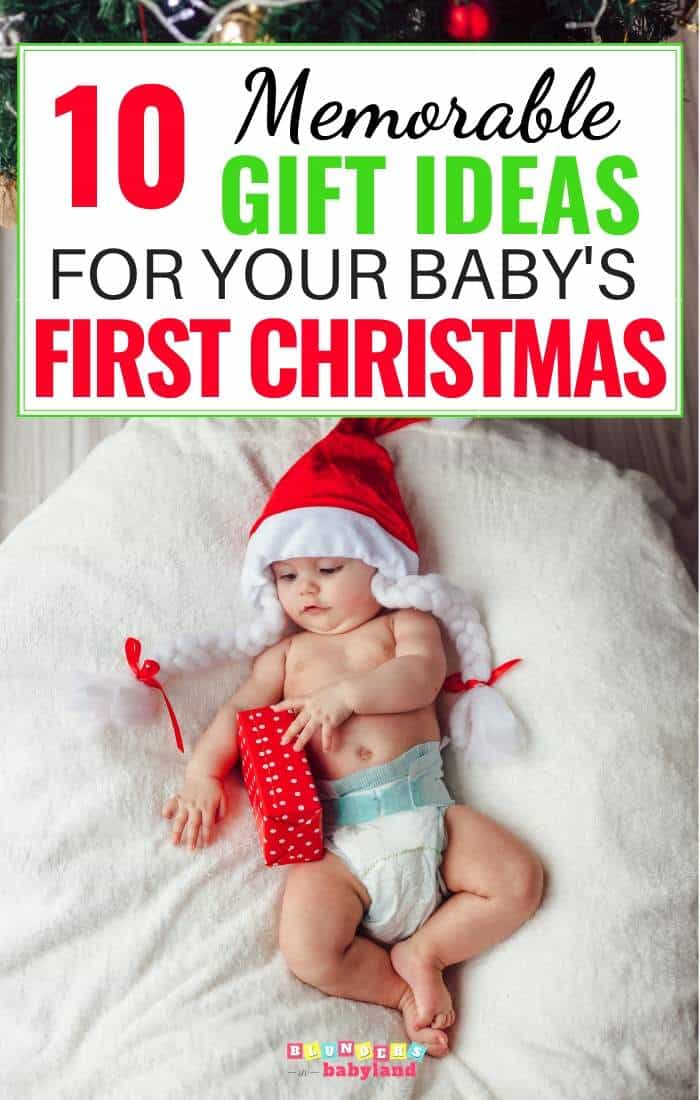 Memorable Gift Ideas for Baby's First Christmas