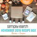 Simply Earth November 2019 Box Review and Coupon (1)