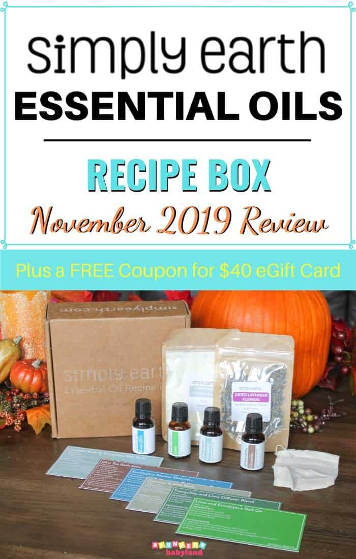 Simply Earth Subscription Box November 2019 Review (1)