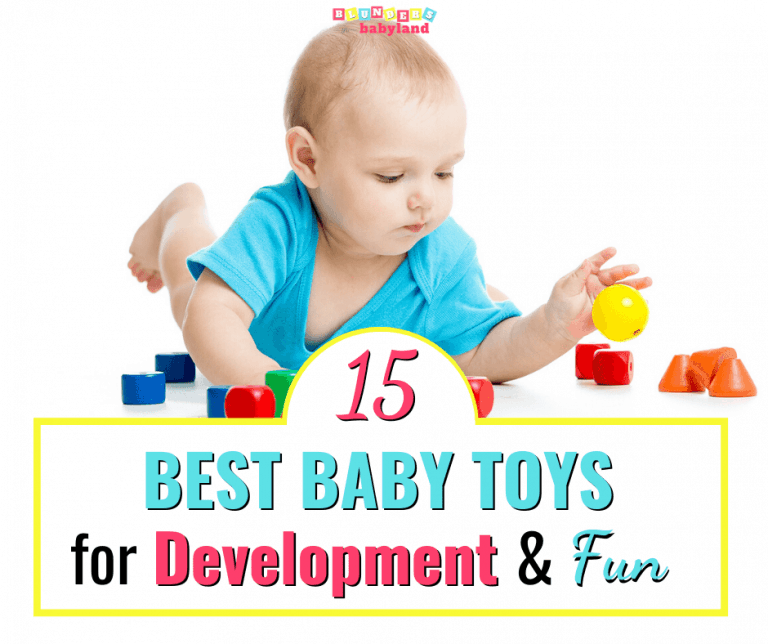 The Best Baby Toys for Development and Fun