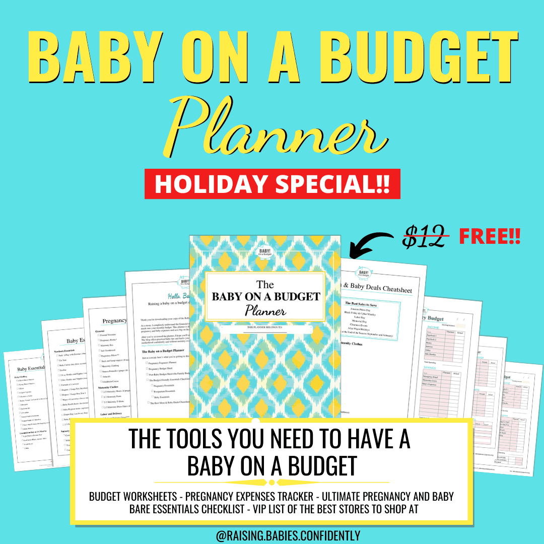 Baby on a Budget Planner Instagram Post