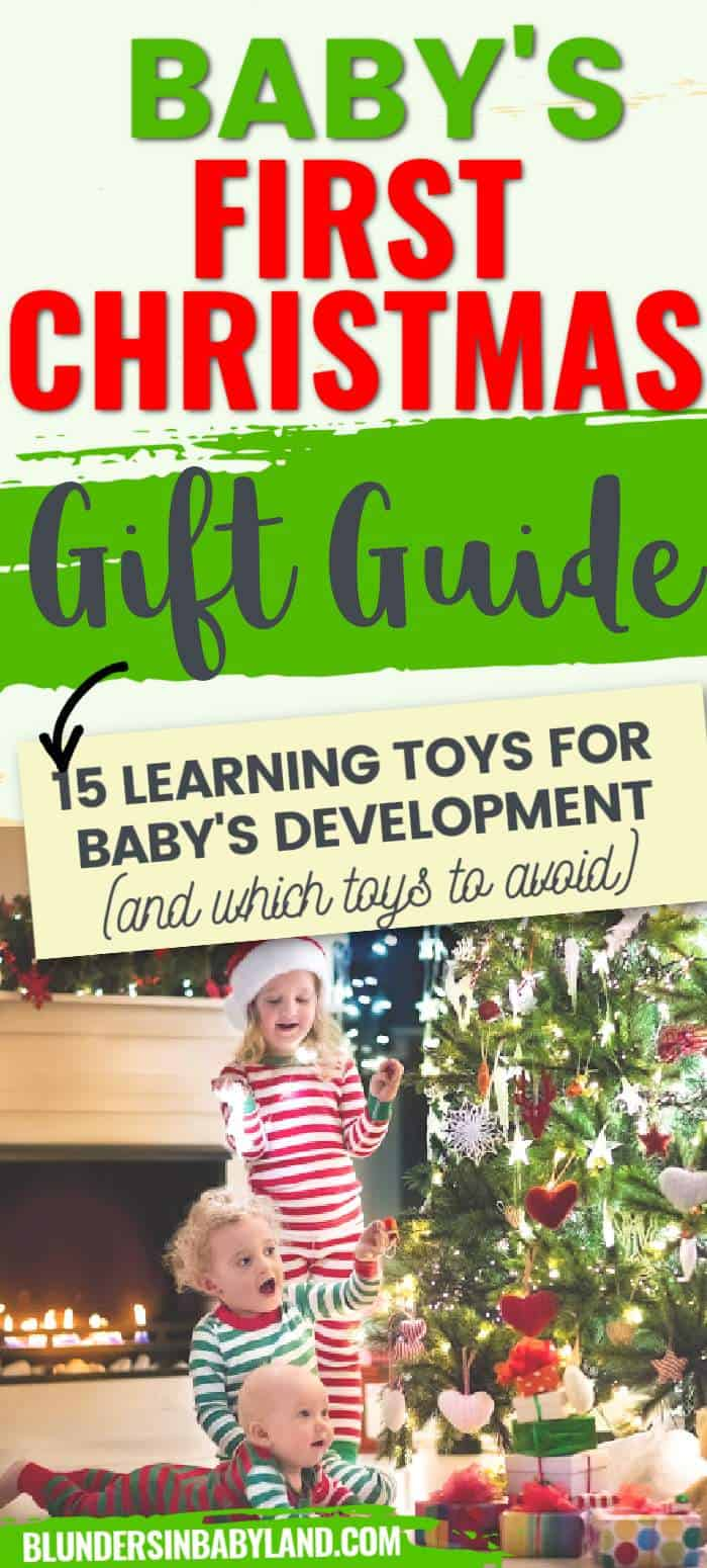 Christmas Gift Ideas for Babies - Learning Toys