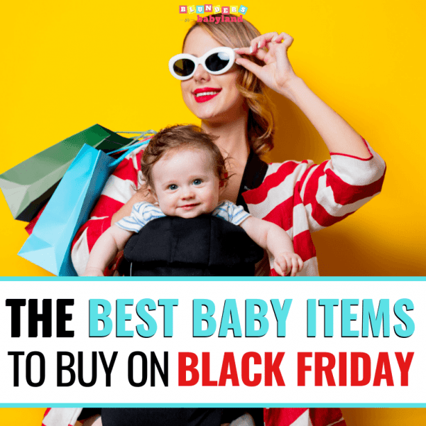 The Best Baby Items to Buy on Black Friday