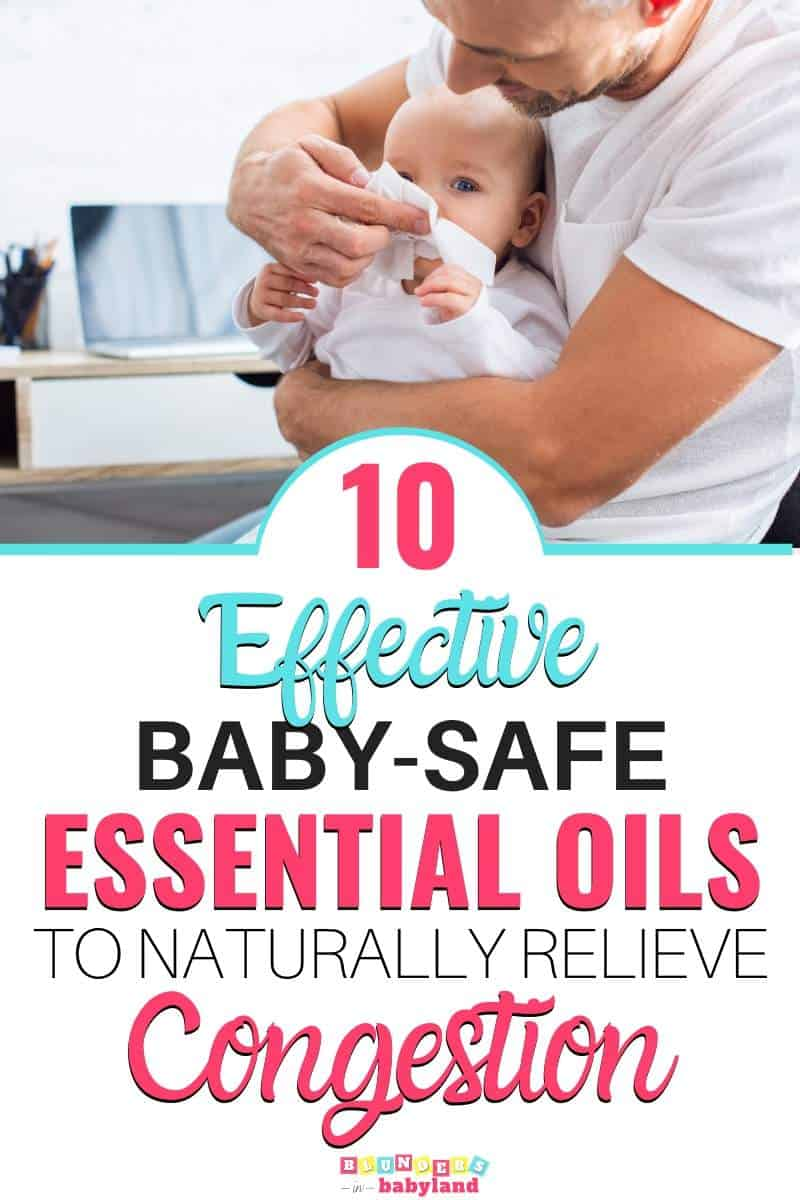 Baby - Safe Essential Oils for Congestions - Baby Essential Oils for Cough and Congestion