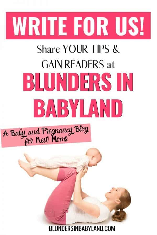 Guest Post on Mom Blogs - Blunders in Babyland (1)