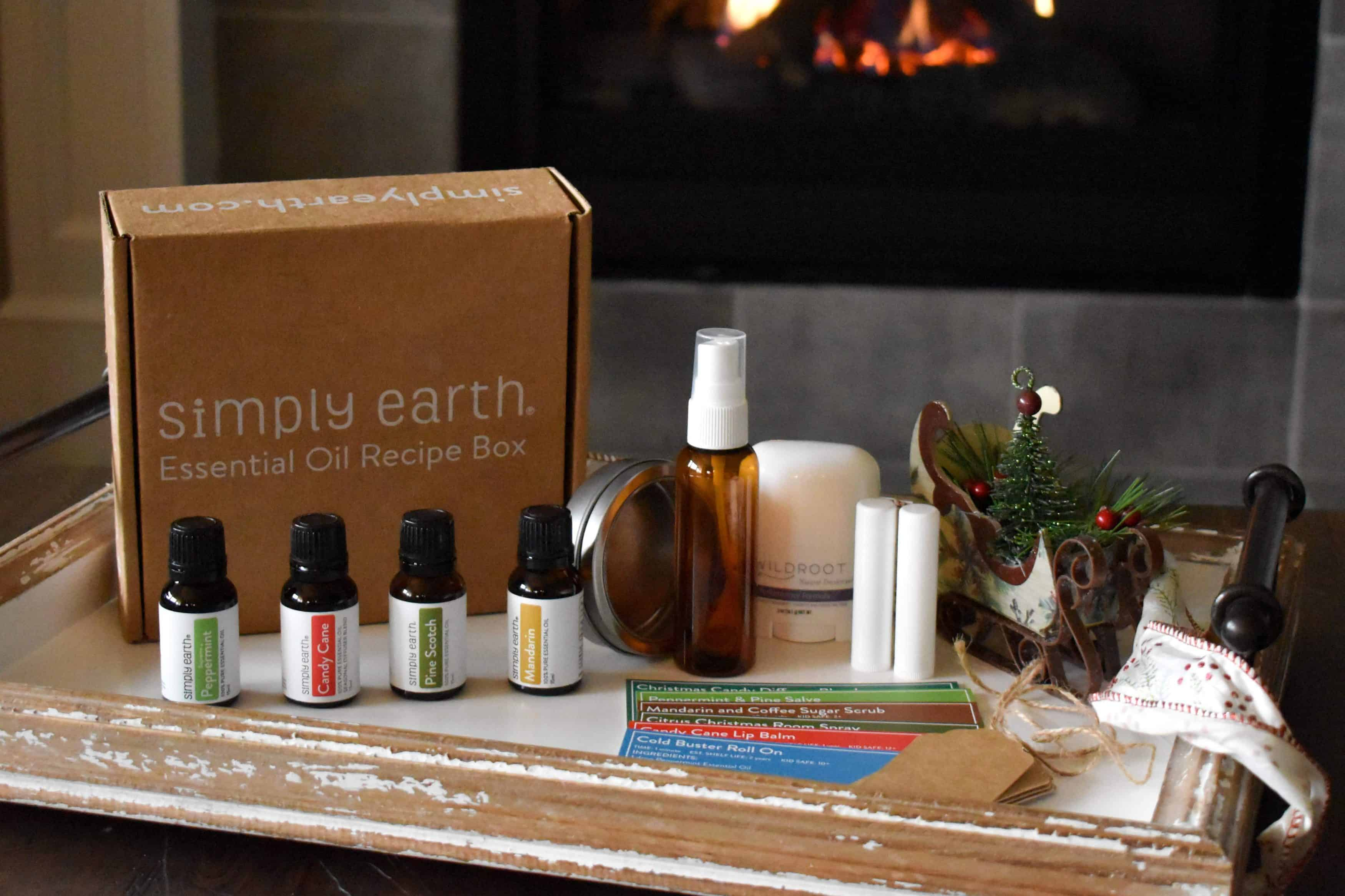Simply Earth December 2019 Recipe Box Review