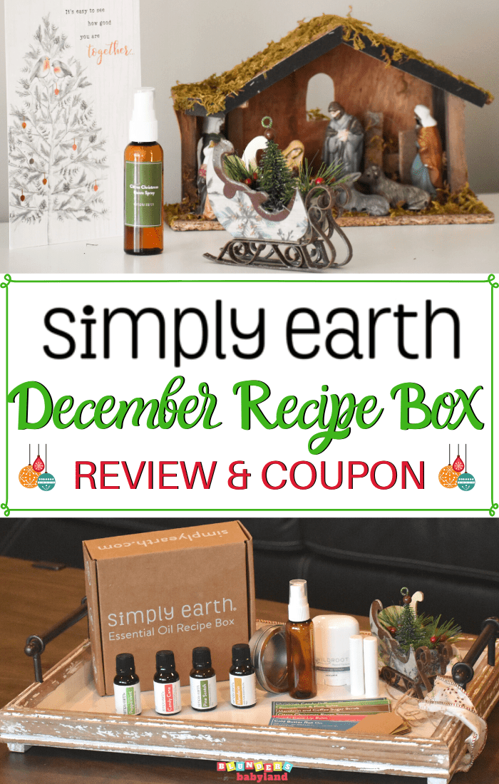 Simply Earth Recipe Box Review - December 2019 (1)