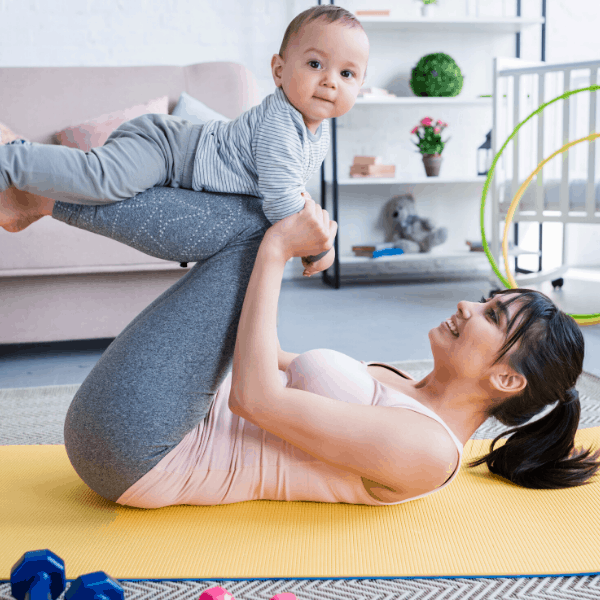 Postnatal Core Exercises - Postpartum Exercises After Pregnancy