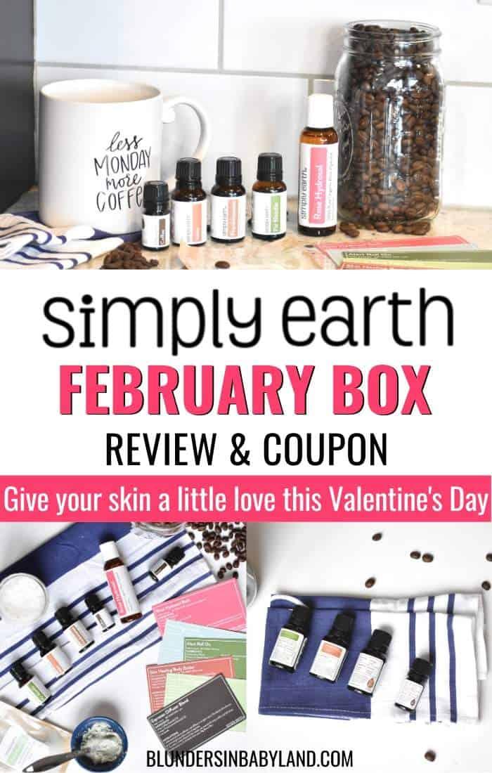 Simply Earth Essential Oils - February 2020 Recipe Box Review (1)