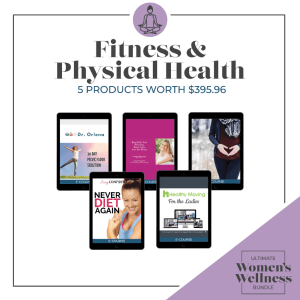 Ultimate Women's Wellness Bundle Fitness and Physical Health