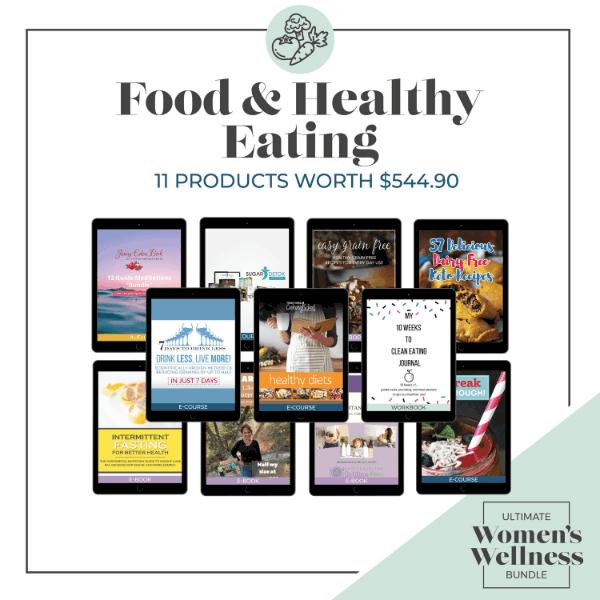 Ultimate Women's Wellness Bundle Food and Healthy Eating