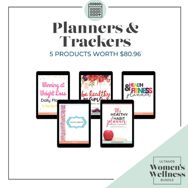 Ultimate Women's Wellness Bundle 2020 Planners and Trackers (1)