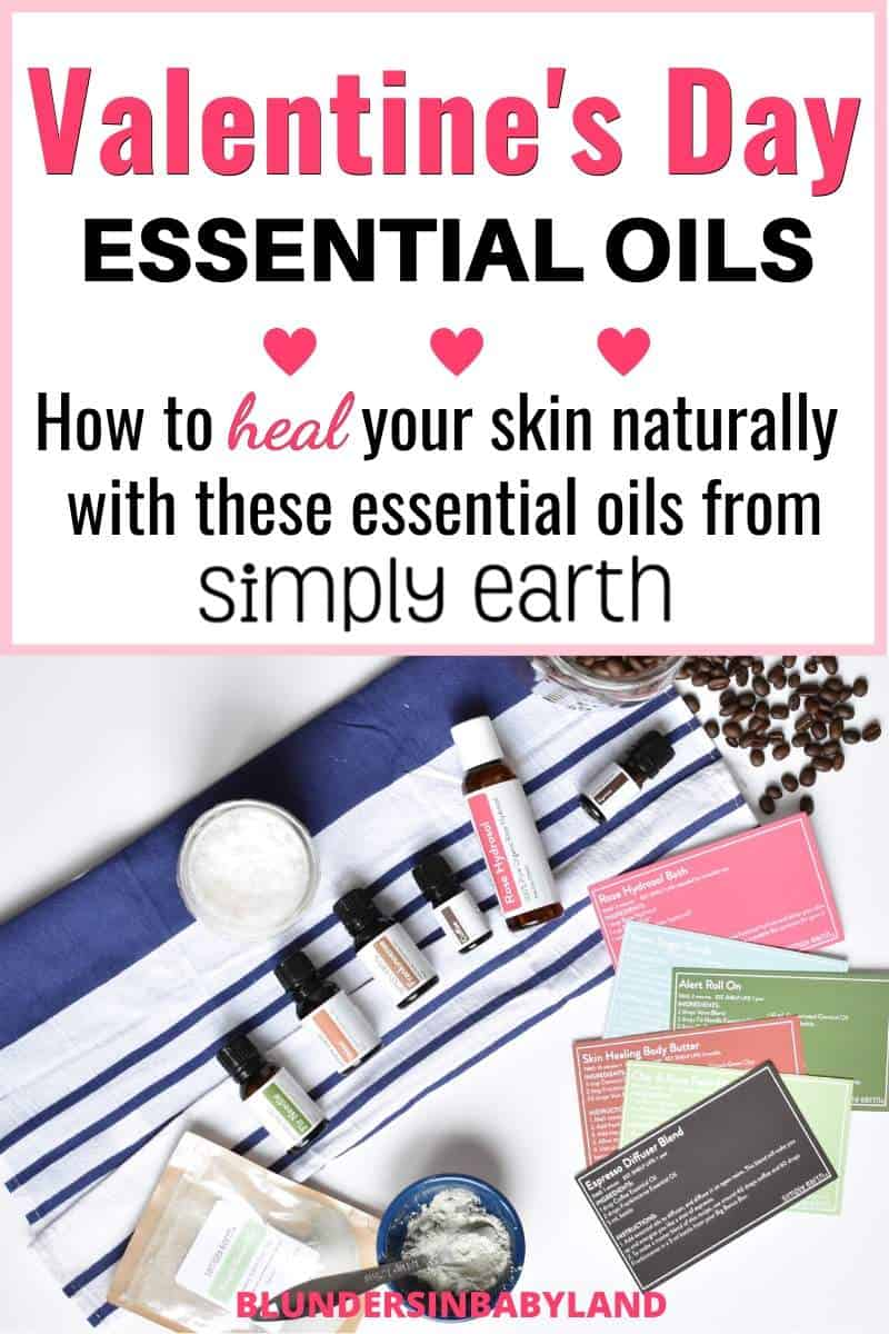 Valentine's Day Essential Oils - Simply Earth February Recipe Box - Rose Hydrosol