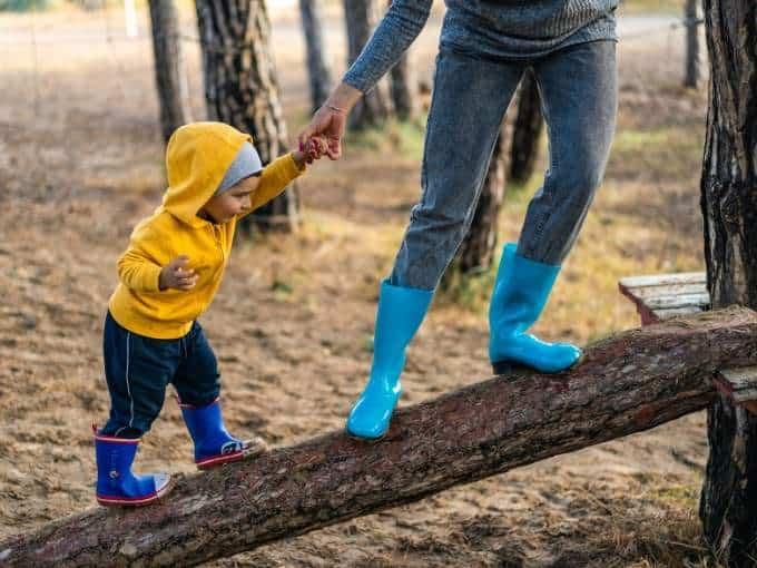 Motherhood is a Balance