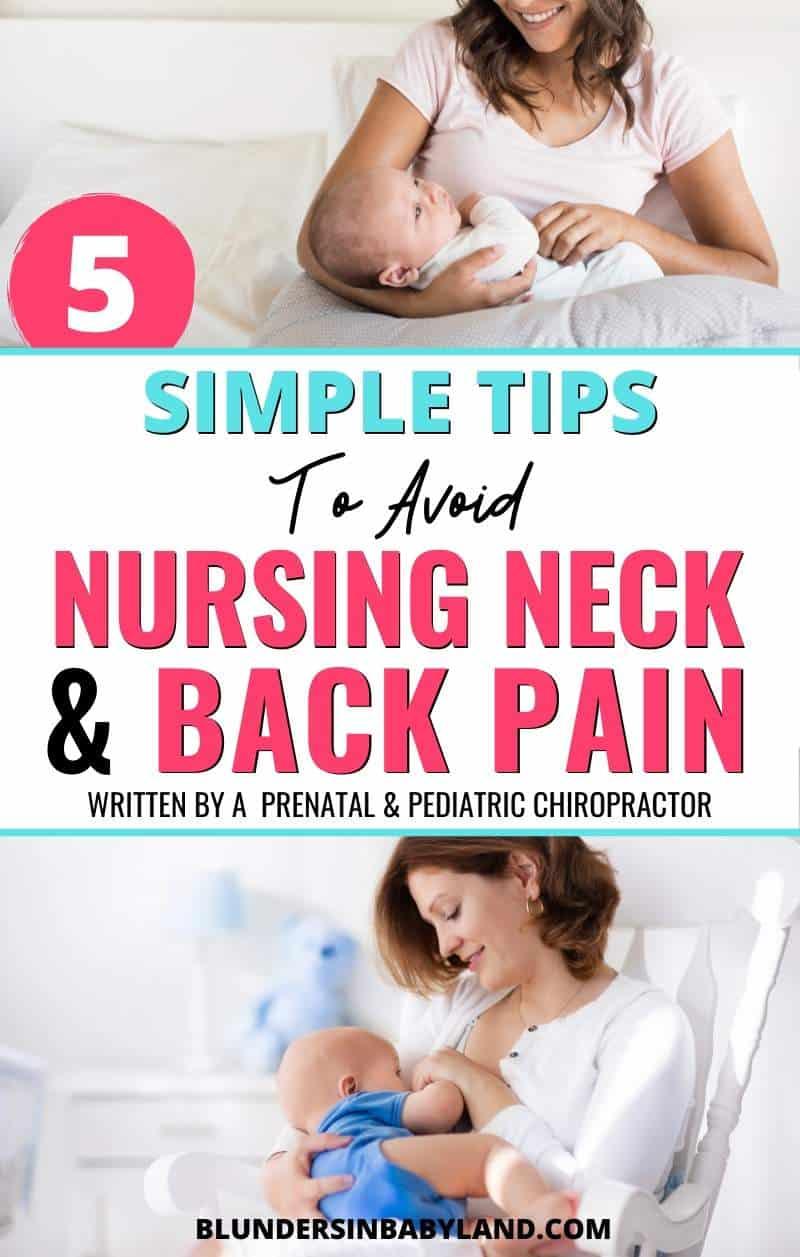 Simple Tips to Avoid Nursing Neck Pain