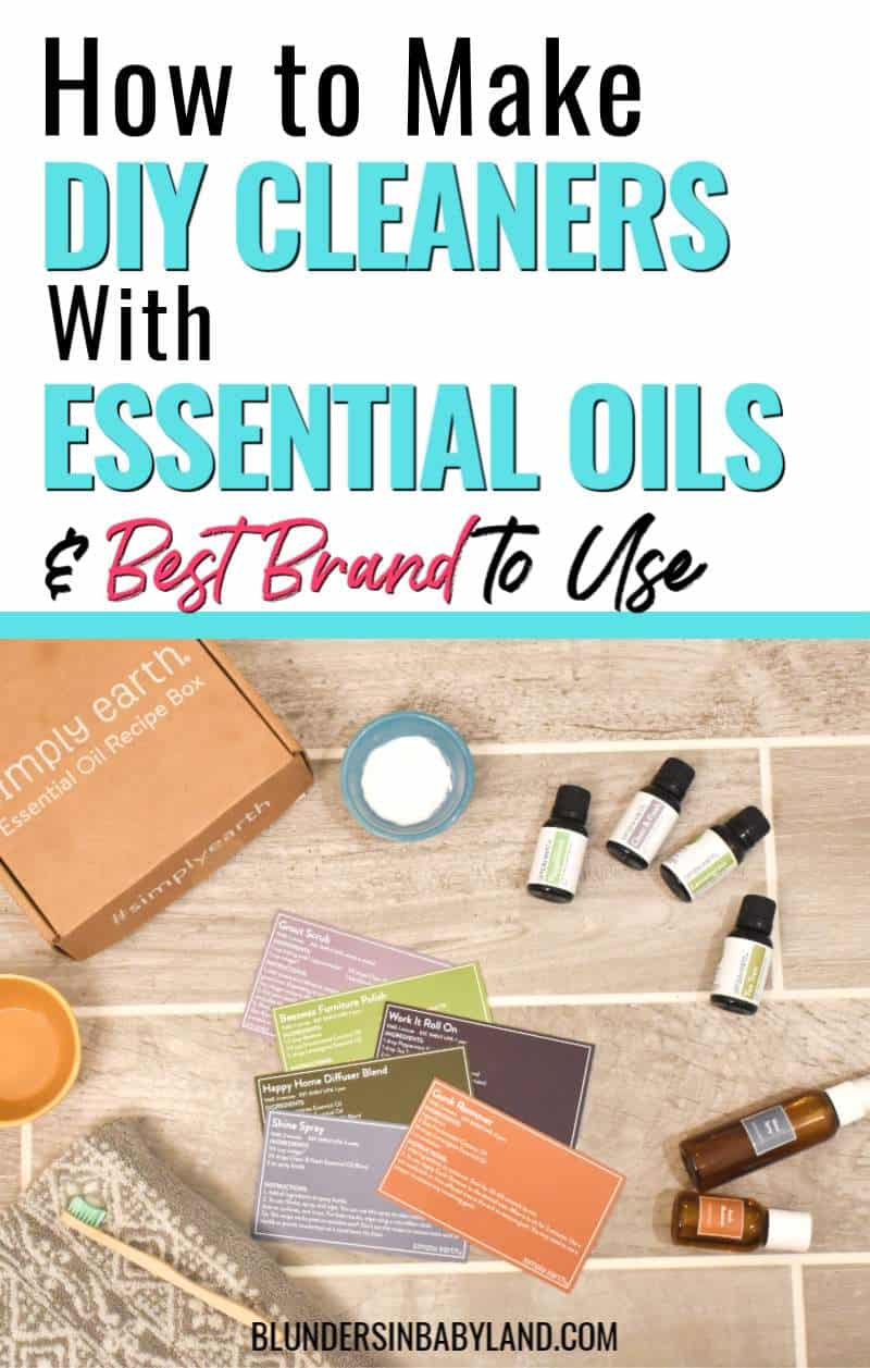 DIY Cleaning Products with Essential Oils - Detoxing Home - Simply Earth Essential Oils