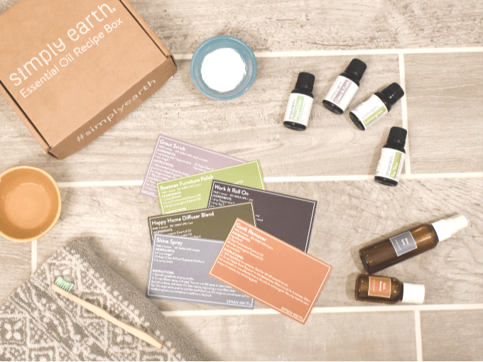 Simply Earth April Box Review + Coupon: Detox Your Home with DIY Cleaners