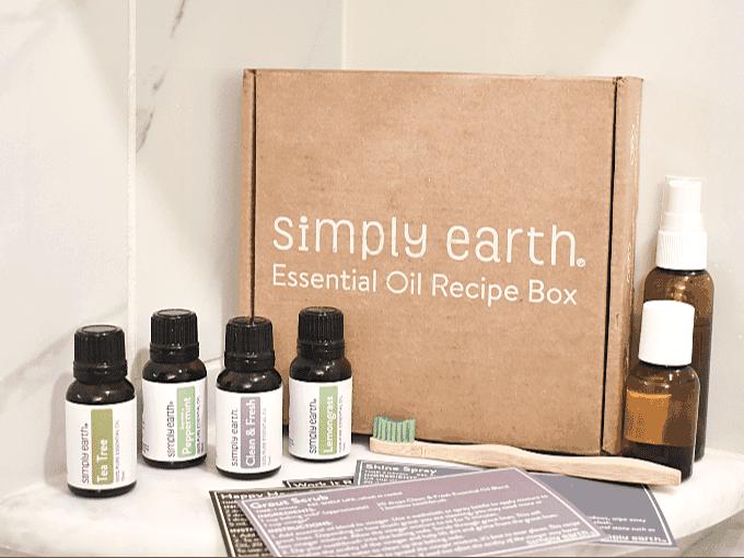 Simply Earth April Recipe Box Review