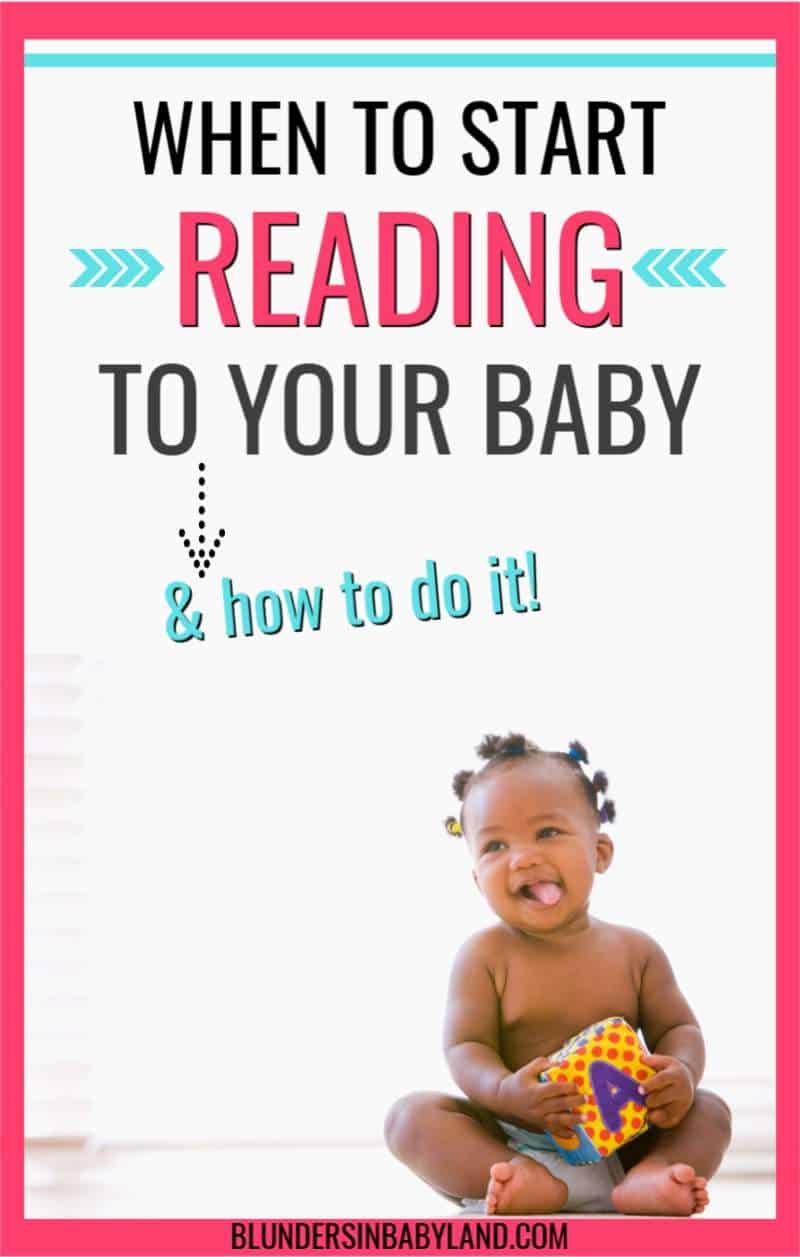 When to Start Reading to Your Baby and How to Do it