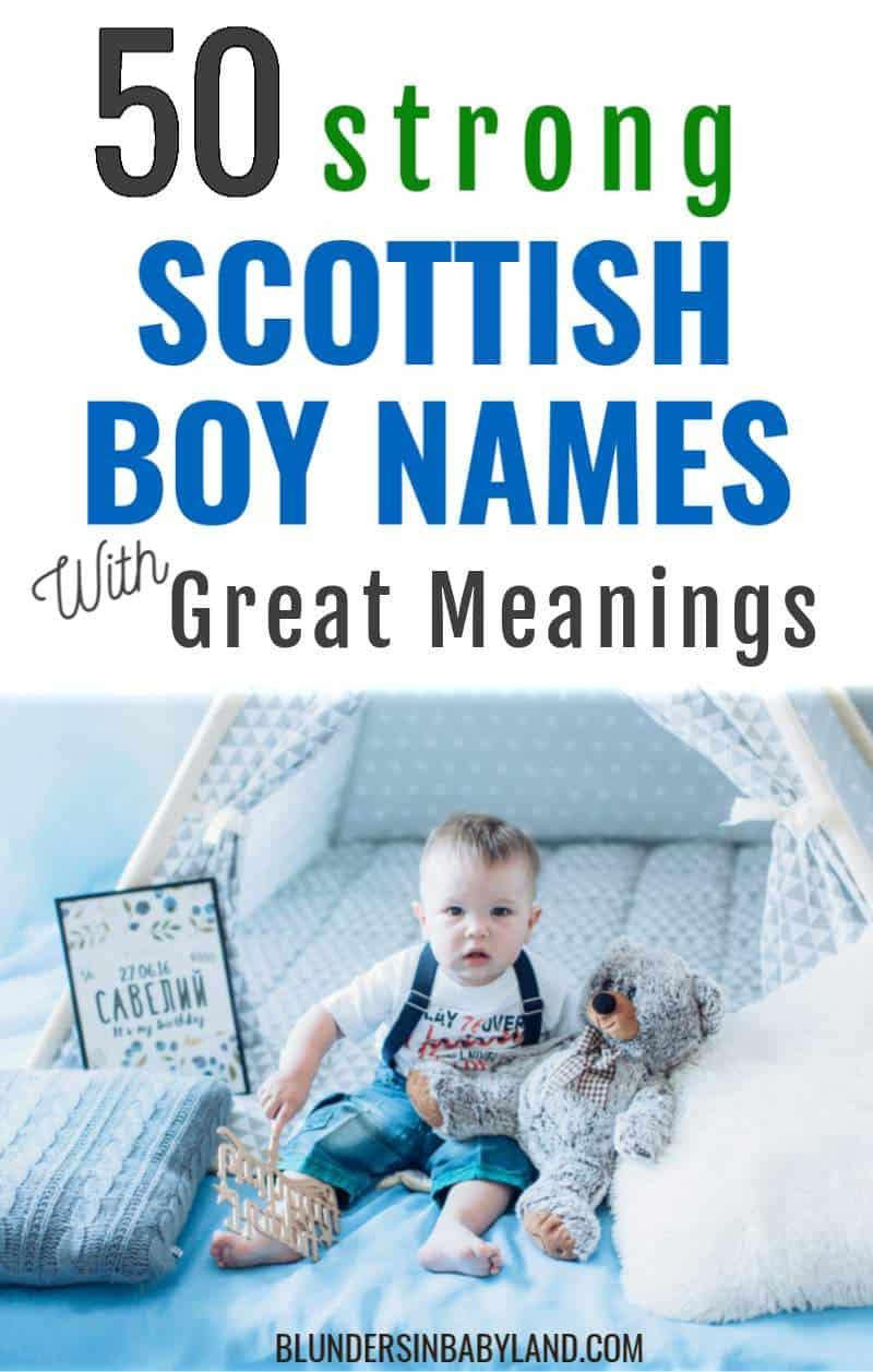 Scottish Baby Names for Boys