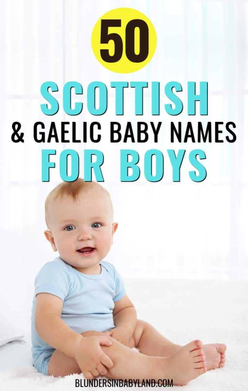 Scottish and Gaelic Baby Names for Boys