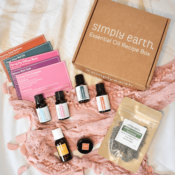 Balance Your Hormones with Essential Oils – Simply Earth May Box Review