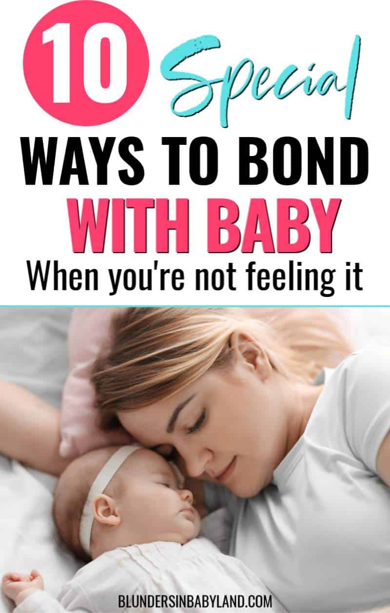 How to Bond with Baby