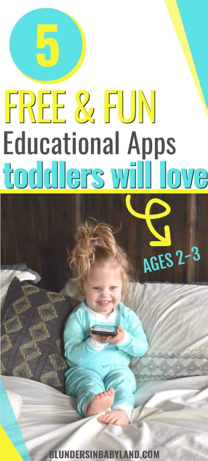 5 Best Educational Apps for 2-3 Year Olds 2