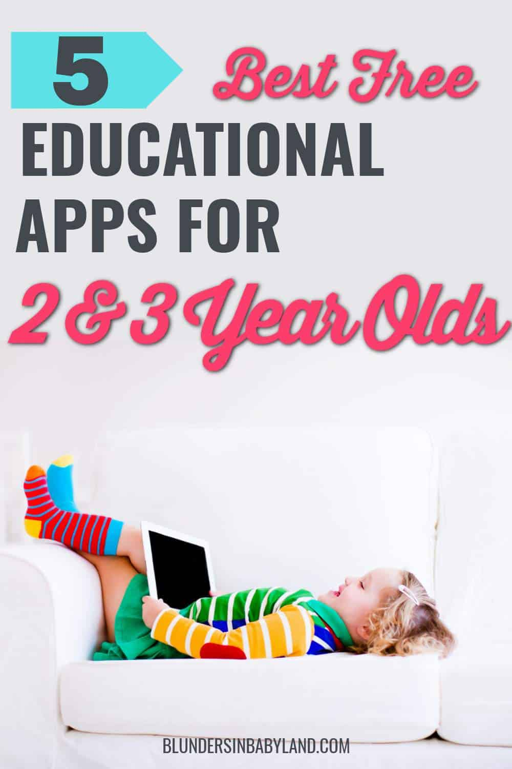 Best Free Apps for Toddlers - Free Apps for 2 Year Olds