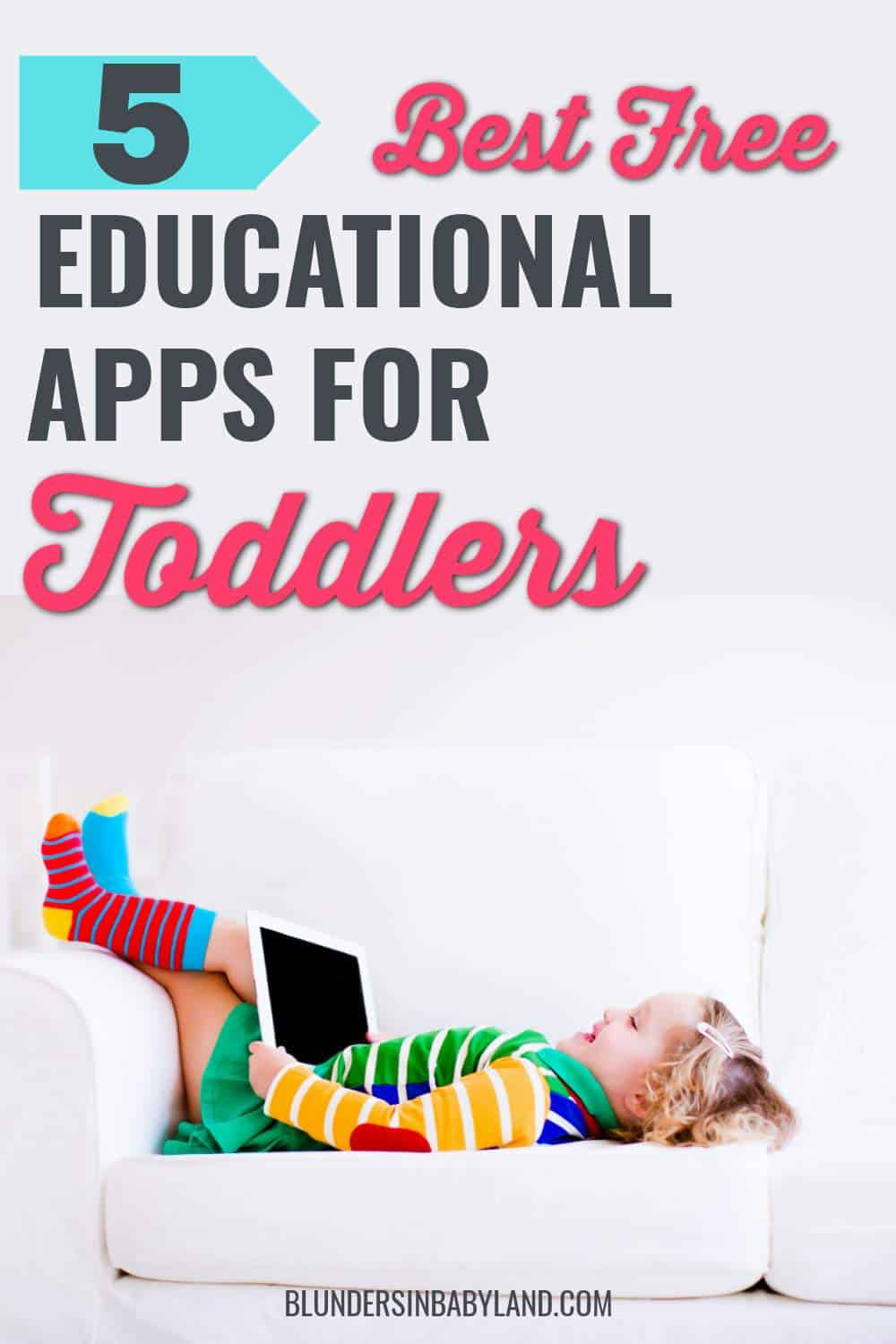 Best Free Educational Apps for Toddlers - Free Toddler Apps