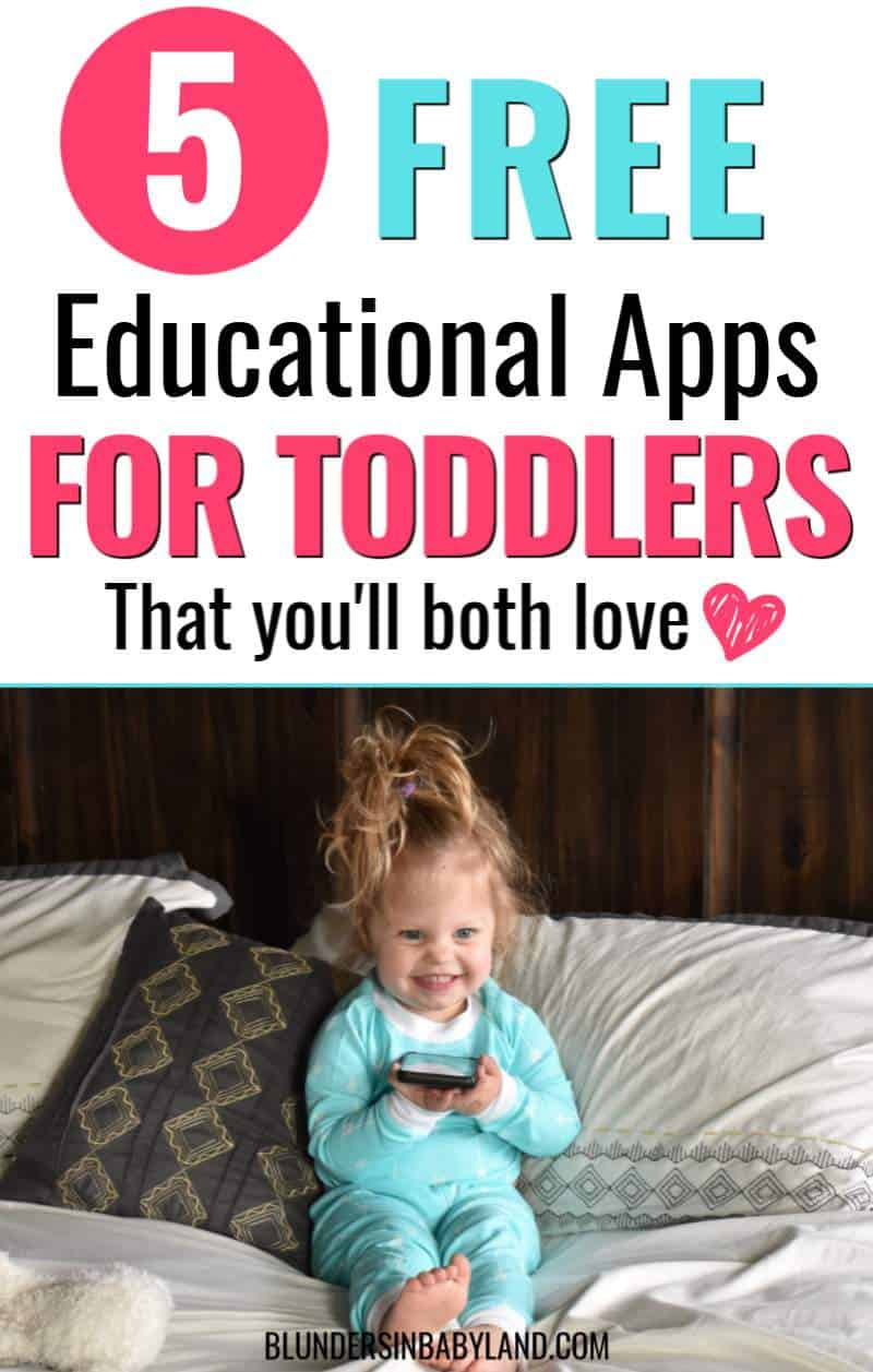 Free Educational Apps for Toddlers - Best Free Educational Apps for Toddlers