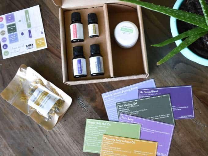 Simply Earth June Box - Oily Aid Box