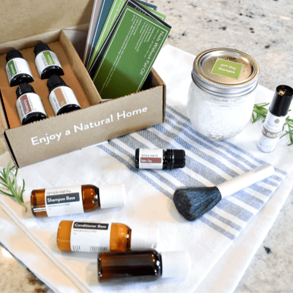 Simply Earth July 2020 Recipe Box – Essential Oil Hair Salon