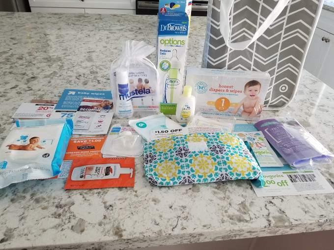 Target Welcome Bag - Pregnancy Freebies (1)