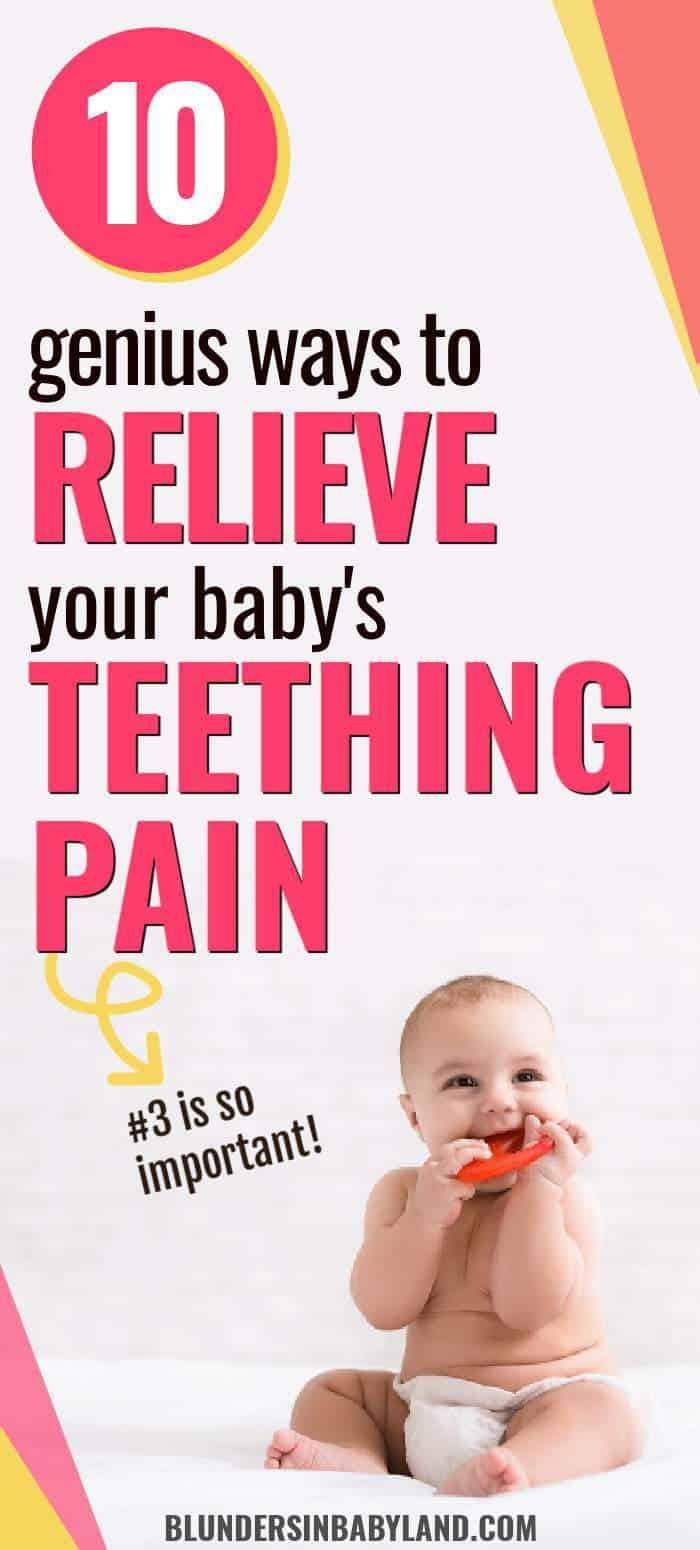 relieve baby teething pain - relieve teething pain in babies (1)