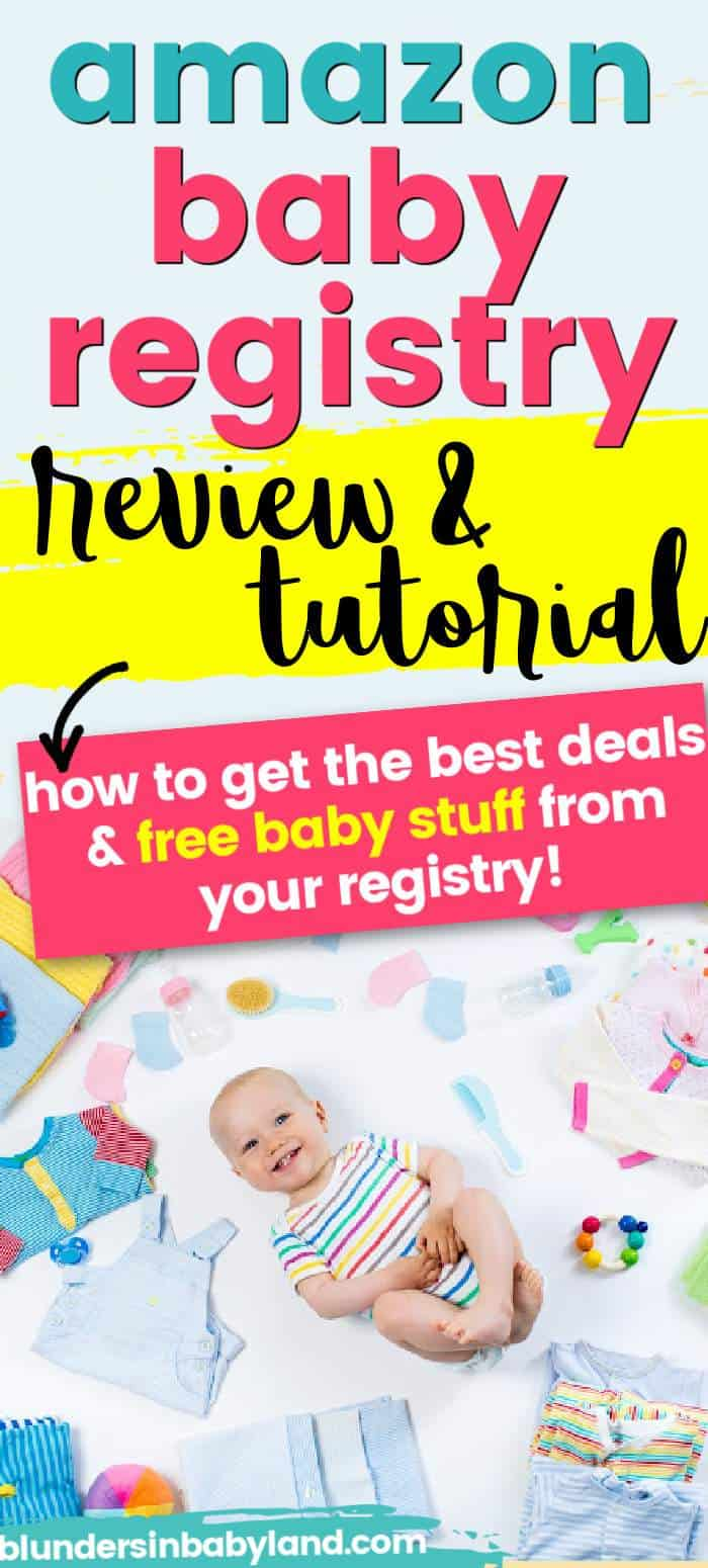 Amazon Baby Registry Review - Free Baby Stuff - Amazon Baby Registry Free Gift