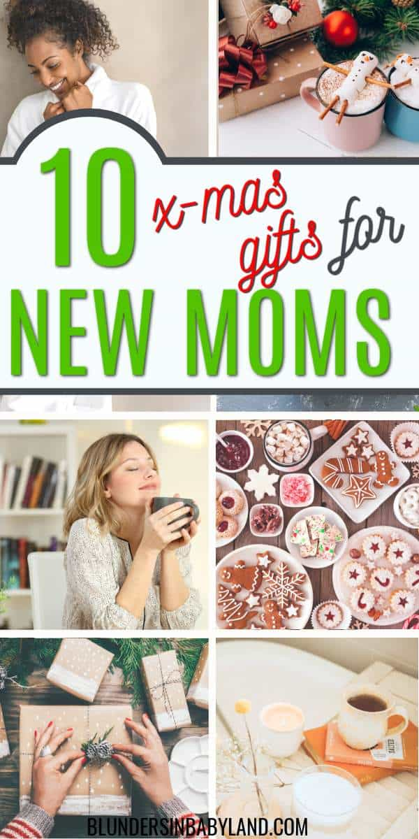 Christmas gifts for new moms - useful gifts for moms