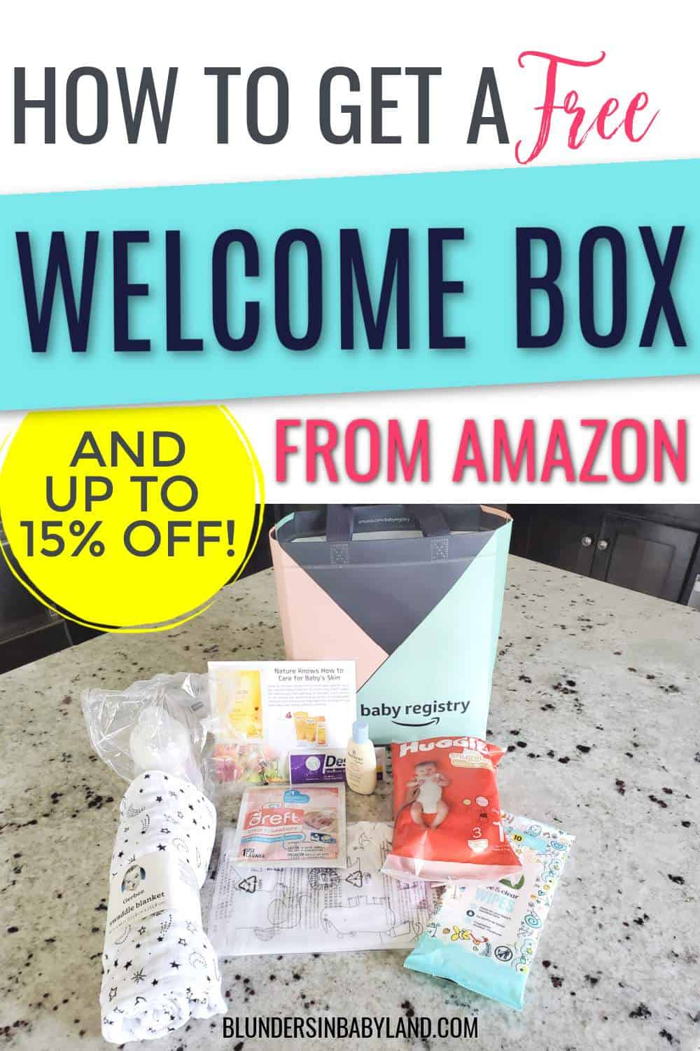 How to Get a Free Welcome Box from Amazon - Amazon Baby Registry Free Gift