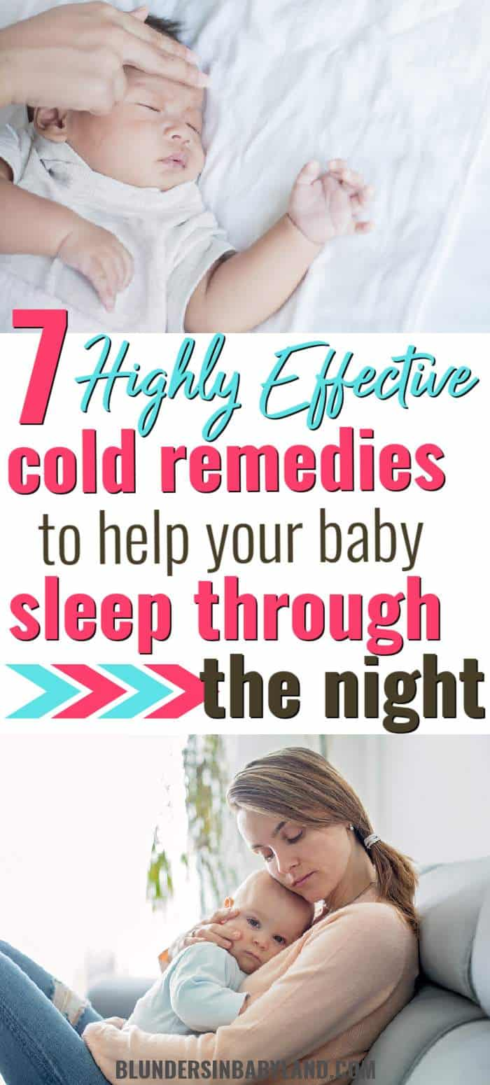 Cold Remedies for Baby - Nighttime Congestion