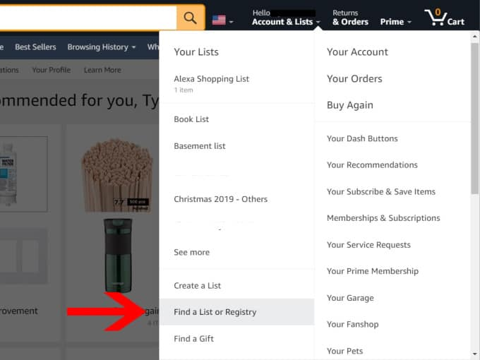 How to Create a Baby Registry on Amazon -2
