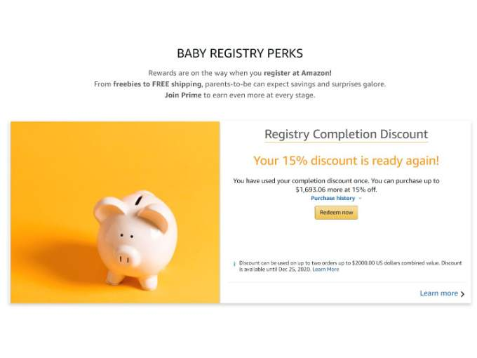 How to Get the Completion Discount on Amazon Baby Registry (1)