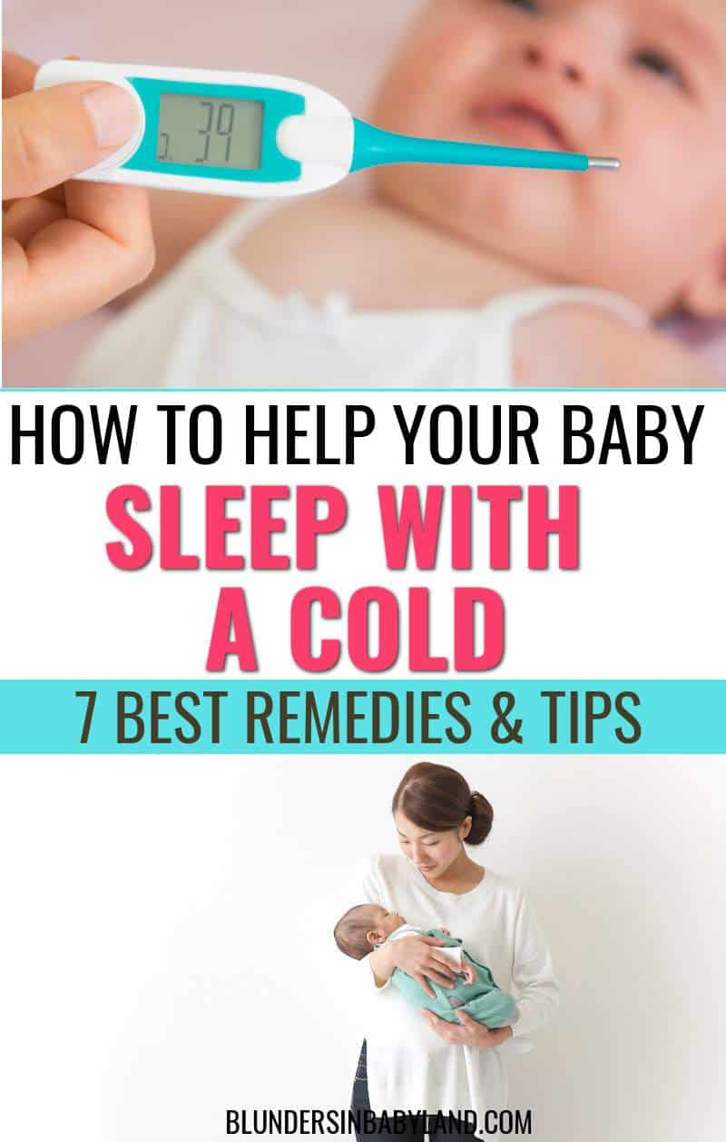 How to Help Your Baby Sleep with a Cold - Cold Remedies for Baby